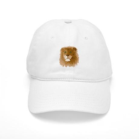 Realistic Lion Cap