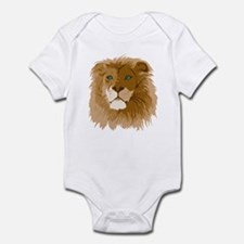 Realistic Lion Infant Bodysuit