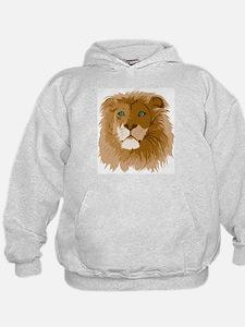 Realistic Lion Hoodie
