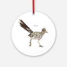 Roadrunner Desert Bird Ornament (Round)