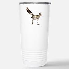 Roadrunner Desert Bird Stainless Steel Travel Mug