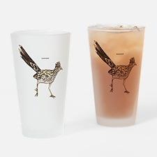 Roadrunner Desert Bird Drinking Glass