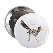 "Roadrunner Desert Bird 2.25"" Button (10 pack)"