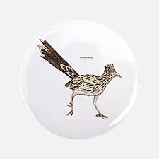 "Roadrunner Desert Bird 3.5"" Button"
