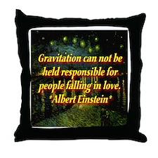 Gravotu & Love Throw Pillow