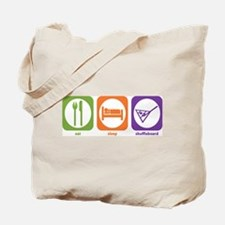 Eat Sleep Shuffleboard Tote Bag