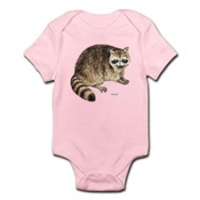 Raccoon Coon Animal Infant Bodysuit
