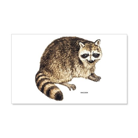 Raccoon Coon Animal 20x12 Wall Decal
