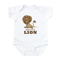 Proud To Be A Lion Infant Bodysuit