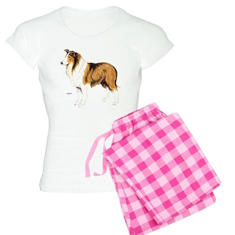 Collie Dog Women's Light Pajamas