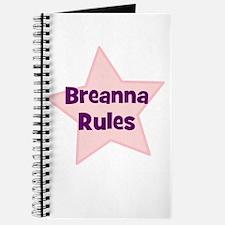 Breanna Rules Journal