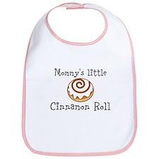 Mommys little Cinnamon Roll Bib