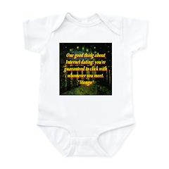 Internet Dating Infant Bodysuit