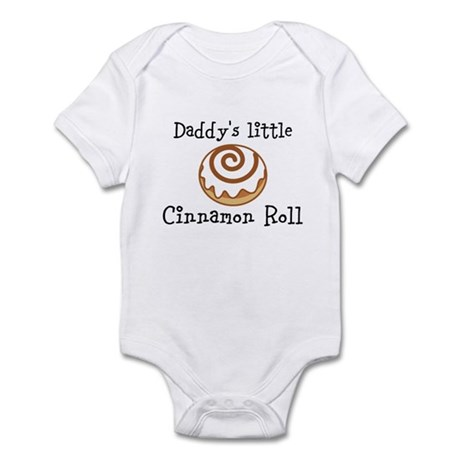 Daddys little Cinnamon Roll Body Suit