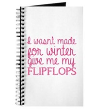 Give me my flip flops Journal