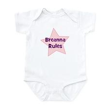 Breanna Rules Infant Bodysuit