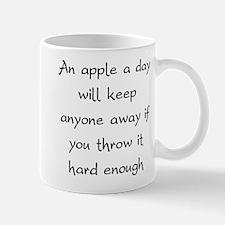An Apple A Day Will Keep Everyone Away Mug