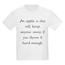 An Apple A Day Will Keep Everyone Away T-Shirt
