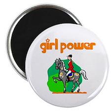 Girl Power Equestrian Magnet