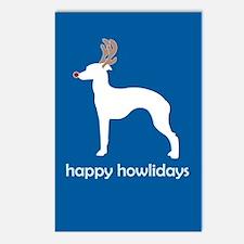 "Italian Greyhound ""Happy Howl Postcards (Package o"