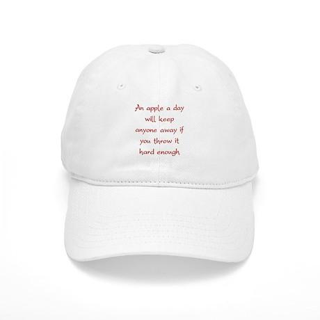 An Apple A Day Will Keep Everyone Away Cap