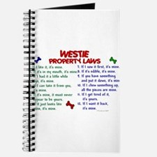 Cute Westie dogs Journal