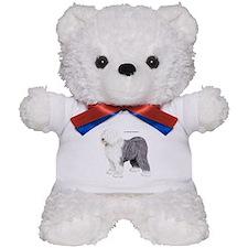 Old English Sheepdog Dog Teddy Bear