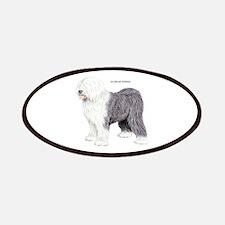 Old English Sheepdog Dog Patches