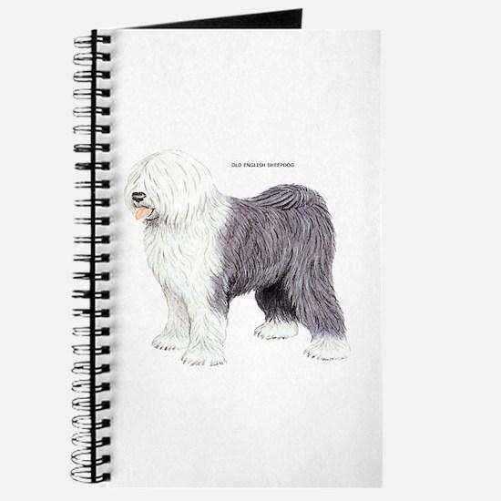 Old English Sheepdog Dog Journal