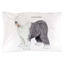 Old English Sheepdog Dog Pillow Case