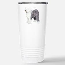 Old English Sheepdog Dog Travel Mug