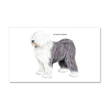 Old English Sheepdog Dog Car Magnet 20 x 12