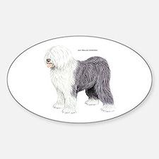 Old English Sheepdog Dog Decal