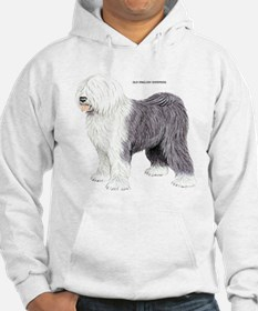 Old English Sheepdog Dog Hoodie