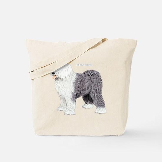 Old English Sheepdog Dog Tote Bag