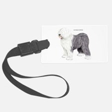 Old English Sheepdog Dog Luggage Tag