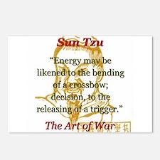 Energy May Be Likened - Sun Tzu Postcards (Package