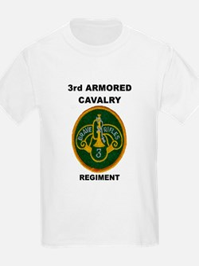 3RD ARMORED CAVALRY REGIMENT Kids T-Shirt