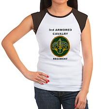 3RD ARMORED CAVALRY REGIMENT Women's Cap Sleeve T-