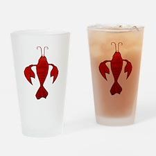 Fleur De Craw Drinking Glass