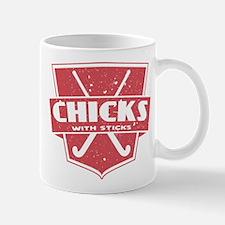 Field Hockey Chicks With Sticks Mug