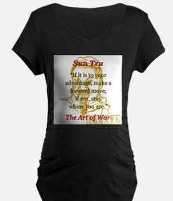 If It Is To Your Advantage - Sun Tzu Maternity T-S