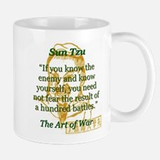 If You Know The Enemy - Sun Tzu Mugs