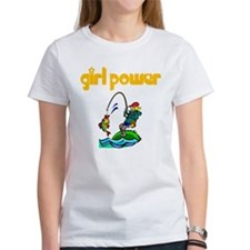 Girl Power Fishing Tee