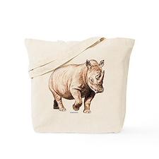 Rhino Rhinoceros Animal Tote Bag