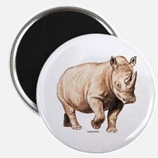 "Rhino Rhinoceros Animal 2.25"" Magnet (10 pack)"