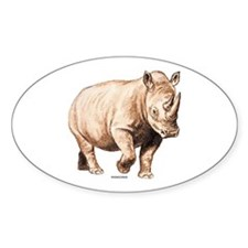 Rhino Rhinoceros Animal Decal