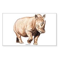Rhino Rhinoceros Animal Decal
