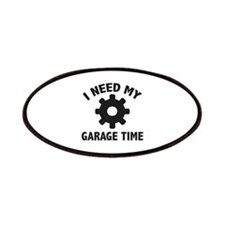 I Need My Garage Time Patches