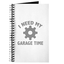 I Need My Garage Time Journal